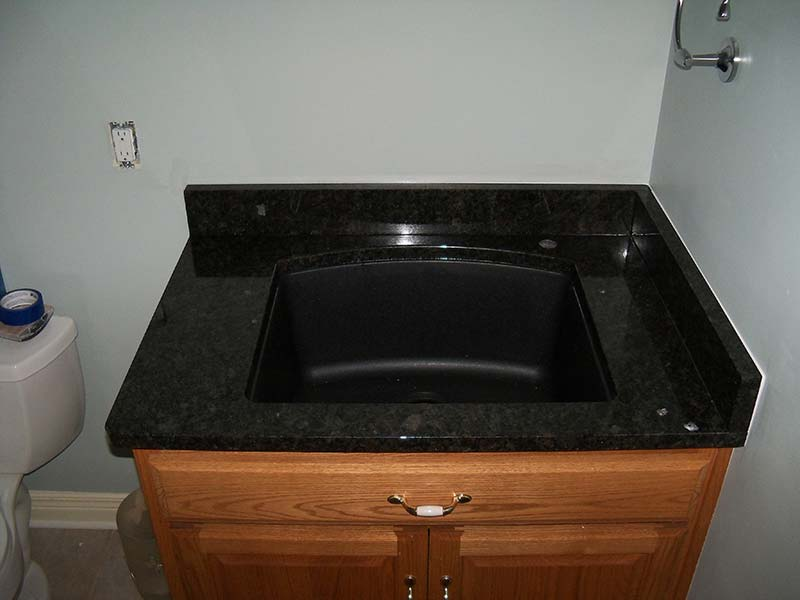 Black Coffee Granite counter
