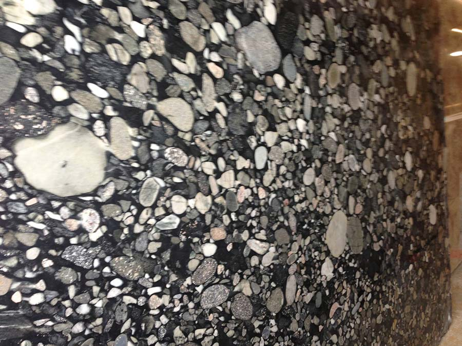 This Black Marinace granite is great for kitchen counters.